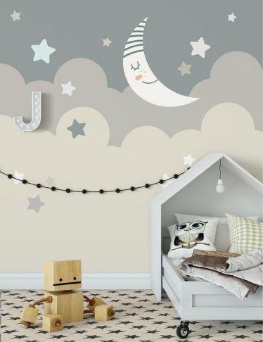 50 Gender Neutral Playroom Designs To Decorate Your Kid S Playroom Nursery Wallpaper Neutral Nursery Wallpaper Baby Room Wall