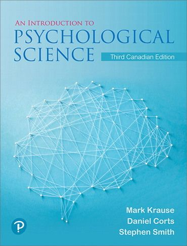 Pdf Ebook An Introduction To Psychological Science 3rd Canadian Edition By Mark Krause Psychological Science Psychology Science