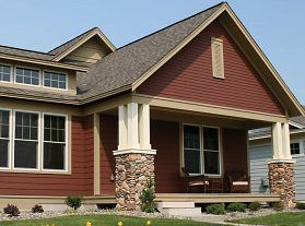 Exterior House Colors Brown kind of like this color combination just not sure if it would look