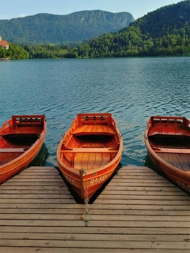 Lake Bled Boats Framed Print By Talbright In 2020 Lake Bled Slovenia Lake Bled Travel Photography