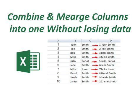 How to split values into different cells or columns in excel