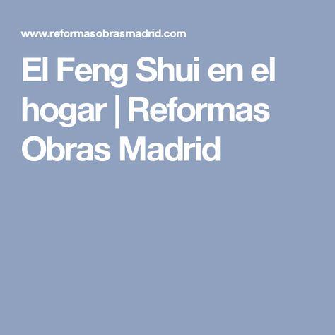 El Feng Shui en el hogar   Reformas Obras Madrid