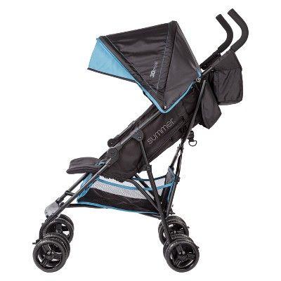 Baby stroller Summer Infant 3D Mini Convenience Stroller Pink//Black