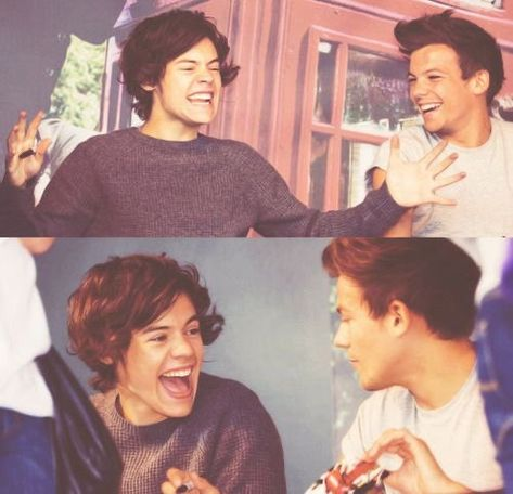 Larry Shippers, Harry Styles Cute, Louis And Harry, Jason Aldean, Happy Together, Marry You, Larry Stylinson, Forever Young, Louis Tomlinson