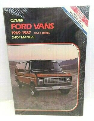 Advertisement Ebay Clymer 1969 1987 Ford Vans Shop Service Repair Manual Book A249 New In 2020 Clymer Ford Van Vans Shop