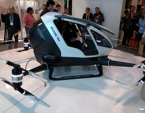 The Ehang 184: A Drone That Flies You   The Extravagant