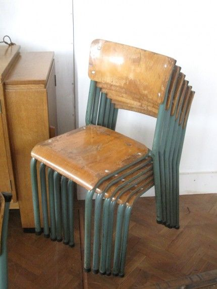 French Vintage School Chairs | Home | Pinterest | School Chairs, Vintage  School And French Vintage