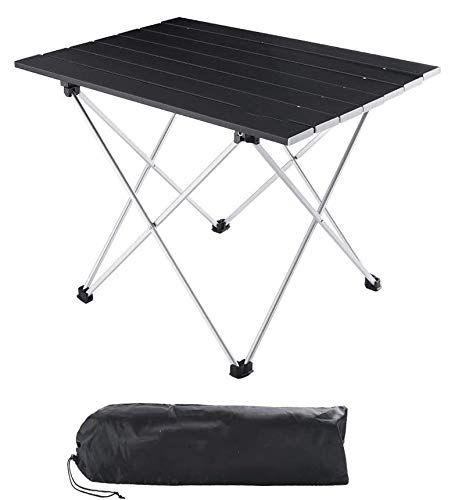 Folding Camping Table Portable Beach Table Mini Aluminum Foldable