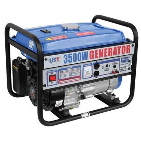 Sale Ust Gg3500 3 500 Watt 6 5 Hp 196cc 4 Stroke Ohv Portable Gas Powered Generator Power Generator Gas Powered Generator Generation
