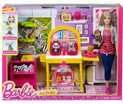 Barbie I Can Be Zoo Doctor Play Set 12 97 Barbie Playsets