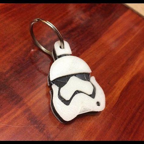 #starwars #llavero #trooper #keychain #3dprinting #lapublicidadvende #granformatoideas #nosotroslahacemos by granformatoideas