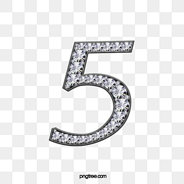 Number 5 5 Clipart Diamond Effect Png Transparent Clipart Image And Psd File For Free Download Mosaic Tile Art Diamond Pattern Design Element