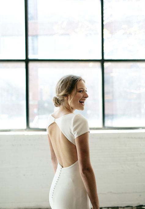 Image 11 - David + Jenna: A minimalist warehouse wedding in Real Weddings.