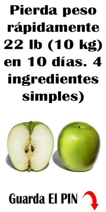 dieta saludable para perder 10 kg