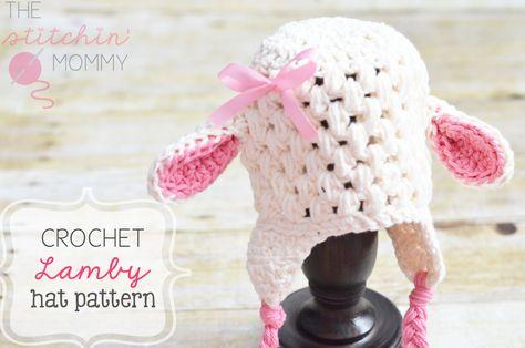 Crochet Lamby Hat Pattern