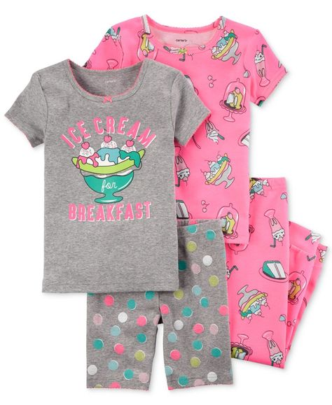 Carter/'s Glittery Dip-dye tropical tee-toddler girls size 3t