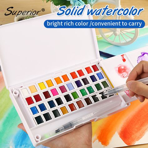 Pin By Crazy Cookie On Watercolor Paint Set Art Painting Supplies