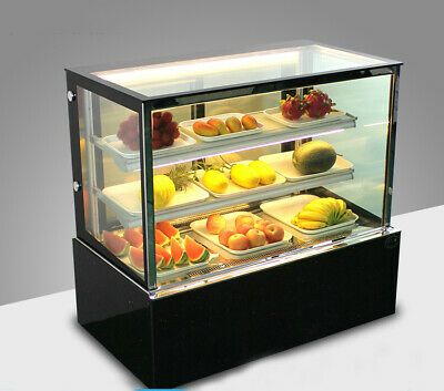Details About Fixed Height 220v Bakery Showcase Cake Display