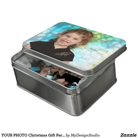 YOUR PHOTO Christmas Gift Personalize Grandma Jigsaw Puzzle