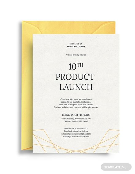 Formal Business Invitation (With images) | Invitation templates ...