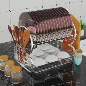 Home Dish Racks Dish Rack Drying Home Basics