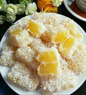 Ongol Ongol Nanas Resep Kue Makanan Makanan Enak