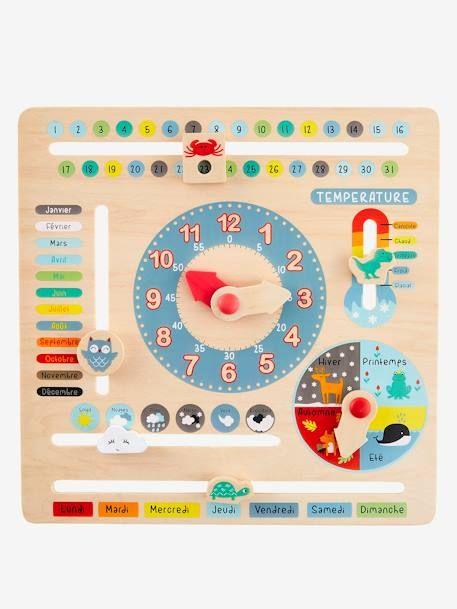 Mehrfarbig Doiy Papier Kalender
