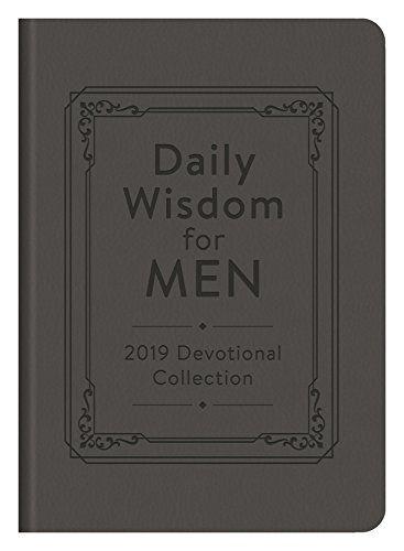 DOWNLOAD PDF] Daily Wisdom for Men 2019 Devotional