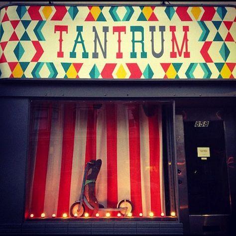 San Francisco, California  - Tantrum! wonderful on the inside
