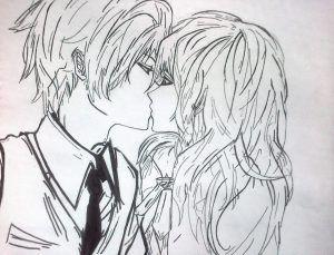 Imagenes Para Dibujar De Anime Anime Bonito Dibujos Anime De Amor Dibujos