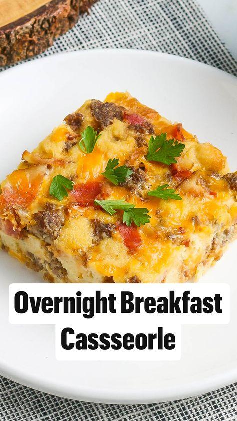 Overnight Breakfast Cassseorle