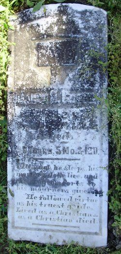 Jacob S Grove Birth2 Mar 1785 Maryland Usa Death14 Aug 1875 Aged 90 Daviess County Indiana Usa Burial Talbotts Chapel Cemeteries Cemetery Grave Memorials