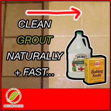 How to Effectively and Naturally Clean Grout - http://naturehacks.com/house-and-home/how-to-effectively-and-naturally-clean-grout/