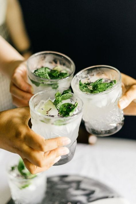 Cooking With MINTY SYNTH: Lavender Mojitos — Cooking with Company