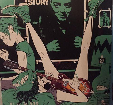 Mc Bess, Jamie Hewlett Art, Gorillaz Fan Art, Character Art, Character Design, Monkeys Band, Illustrations, Illustration Art, The Wombats