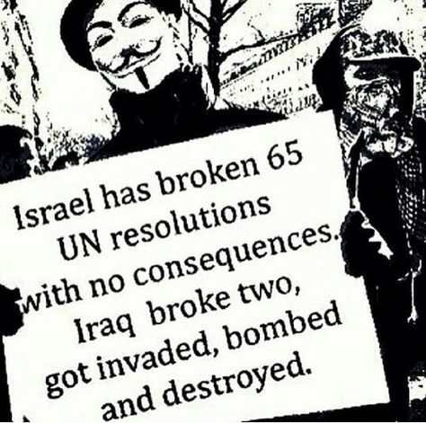 International Law applies to EVERYONE ALL OF THE TIME, not just when its convenient to enforce. Free Palestine