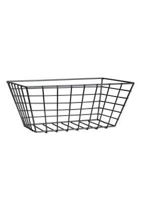 Small Metal Wire Basket Black Wire Basket Wire Baskets Metal Wire