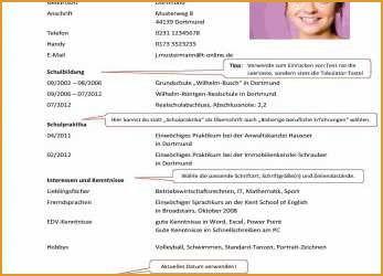 Vorlage Anschreiben Interne Bewerbung Tabellarischerlebenslauf