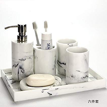 Next Bathroom Accessories Sets Bathroom Accessories Sets Toiletry Kit Marble Bathroom Accessories