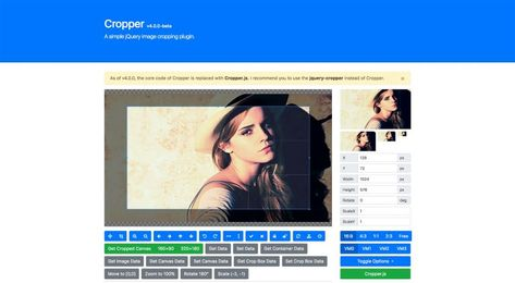 8 Free Javascript Image Cropping Scripts Plugins Projects To