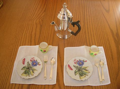 Felicity American Girl Doll Pleasant Company Tea Chocolate Pot FORK ONLY