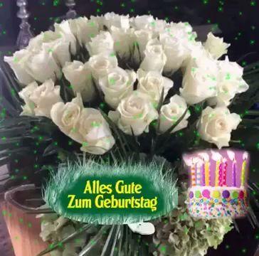Best Wishes For Your Birthday Geburtstag Birthday Geburtstag Wishes Happy Birthday Celebration 18th Birthday Party Themes Happy Birthday Video