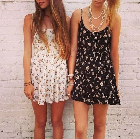 b68ae3c6143e Brandy Melville summer dresses (Love them)  I have the black sunflower one  and it s actually my favorite thing in my closet