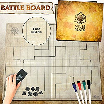 Amazon Com The Original Battle Grid Game Board 27 X 23 Dungeons And Dragons Mat Dry Erase Sq Dungeons And Dragons Board Dungeons And Dragons Grid Game