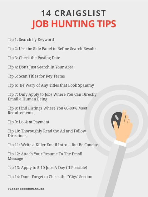 14 Tips For Finding Jobs On Craigslist Writing A Term Paper Picture Writing Prompts Creative Writing Classes