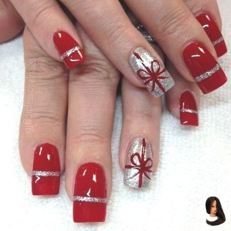 Top 100 Popular Ideas of Christmas Nails Designs To Try in 2019 Sumcoco