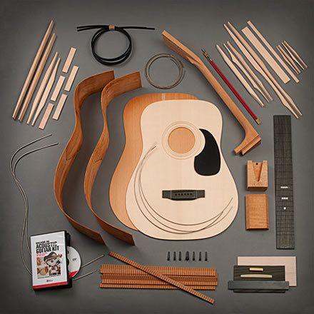 Stewmac Dreadnought Acoustic Guitar Kit Acoustic Guitar Kits Guitar Kits Best Acoustic Guitar