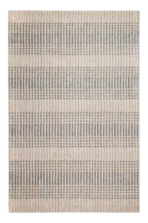 Birch Lane Ontario Handwoven Wool Beige Gray Area Rug Grey Area Rug Area Rugs Rugs