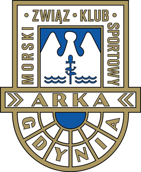 Mzks Arka Gdynia Football Logos Verein