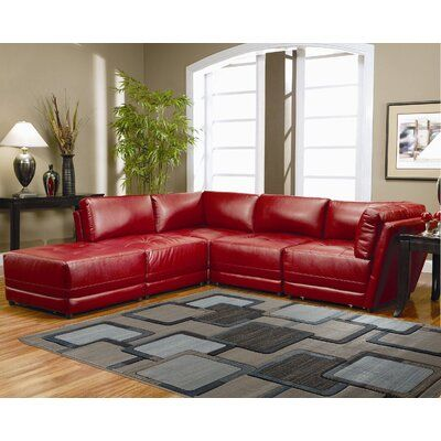 Ebern Designs Ropesville Beige Black Area Rug Rug Size Rectangle 5 X 8 Red Couch Living Room Leather Living Room Furniture Living Room Red